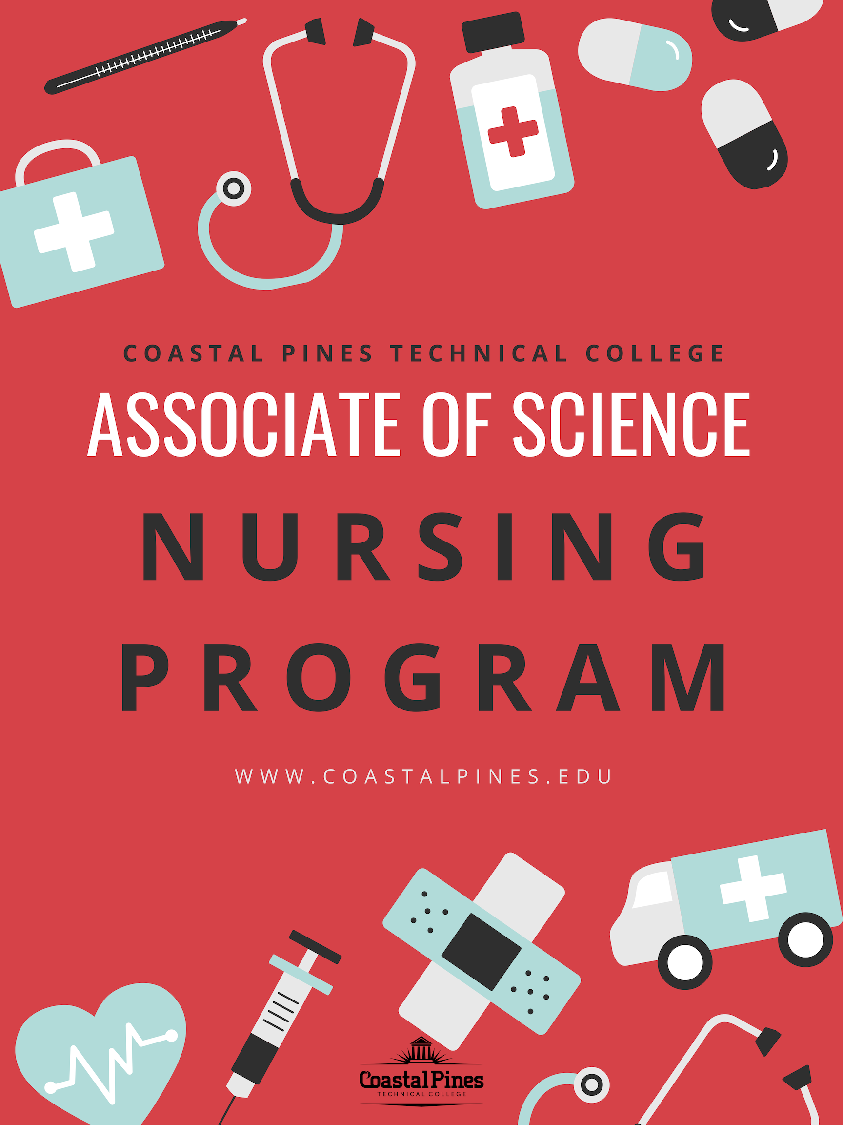 Associate of Science Nursing Program Flyer