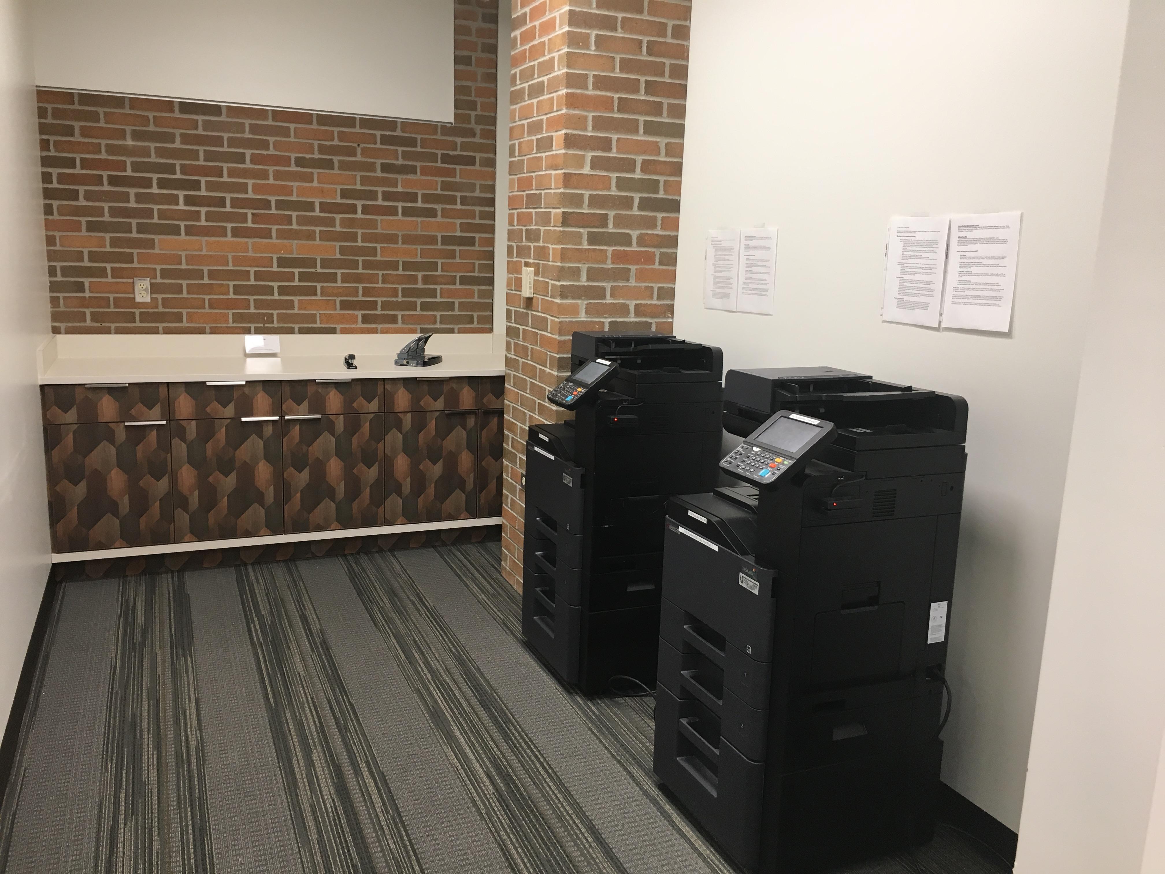 Print room, 1st floor