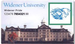 sample Widener ID Card