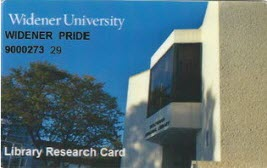 sample library research card