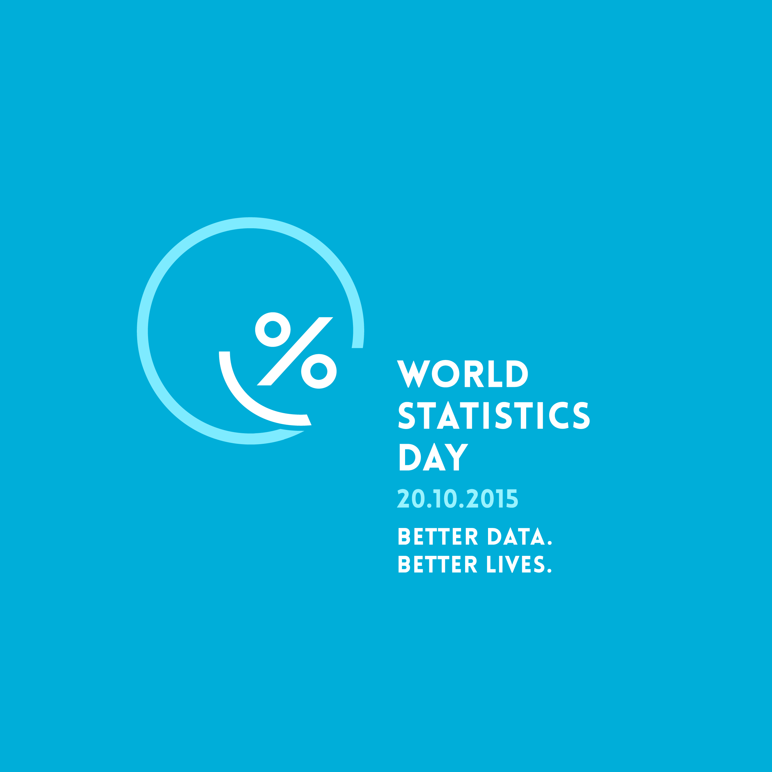 World Statistics Day 2010-2015 Better data. Better lives.