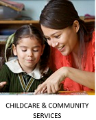 Resources for childcare and community services