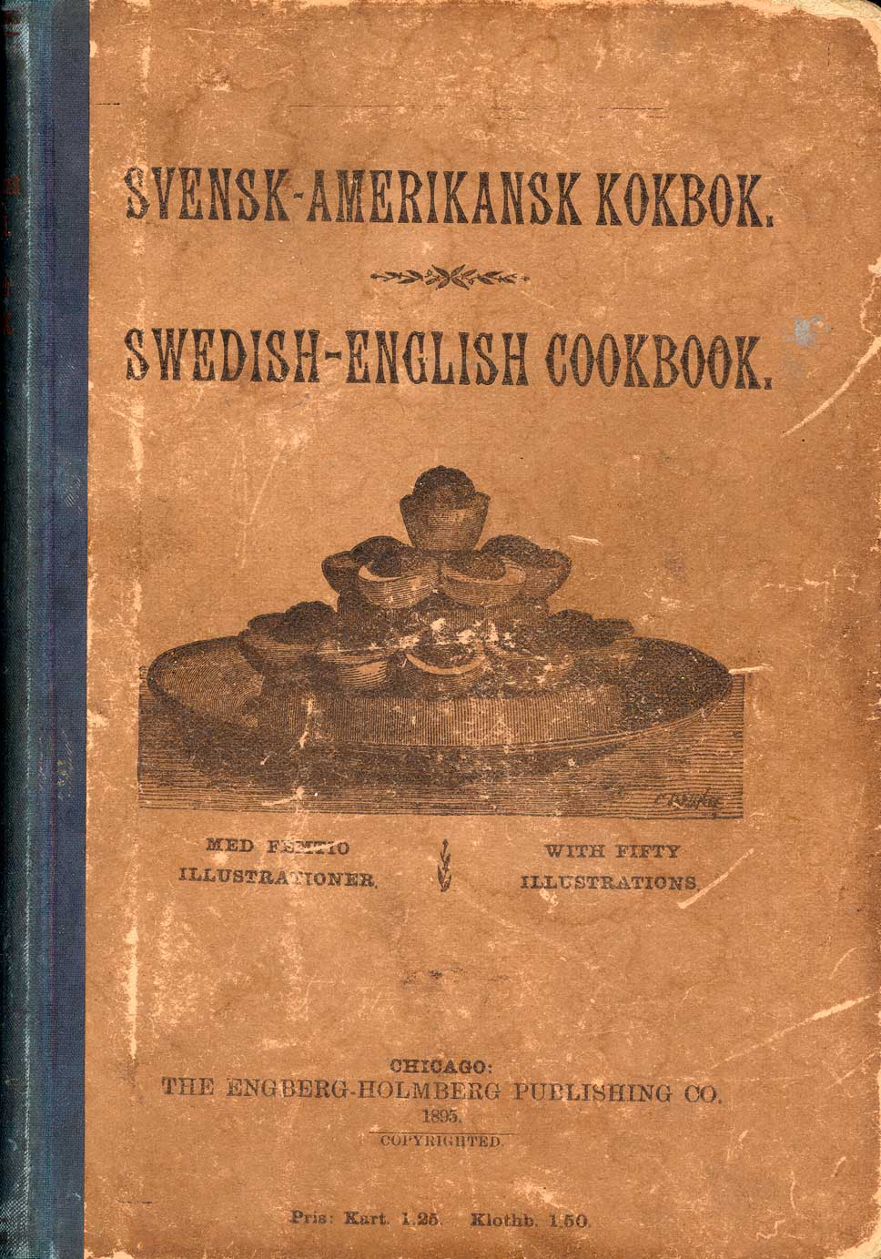 Cover of Svensk-Amerikansk Kokbok / Swedish-English Cookbook