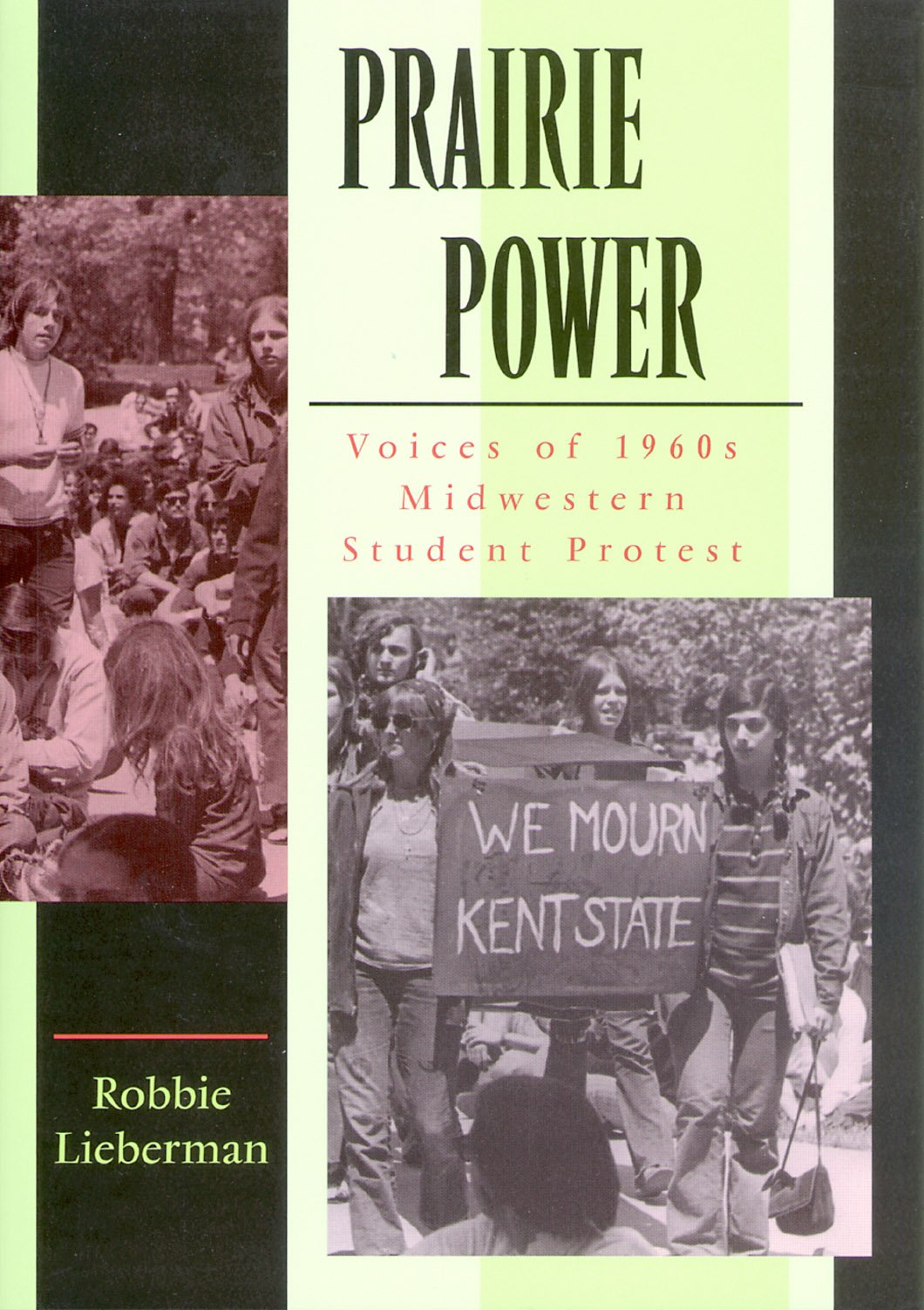 Book cover for Prairie Power: Voices of 1960s Midwestern Student Protest