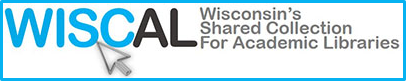 Wisconsin's Shared Collection for Academic Libraries (WISCAL) Logo