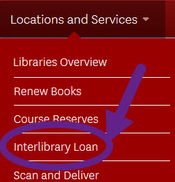 Locations and Services: Interlibrary Loan