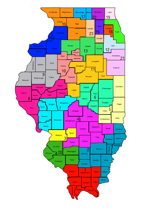 Illinois Circuit Court map
