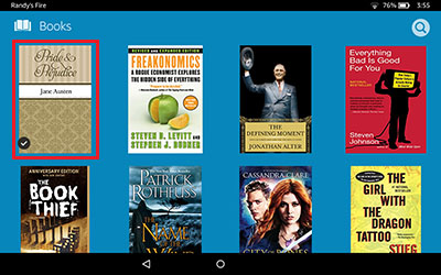 Kindle HD7 Download Screenshot