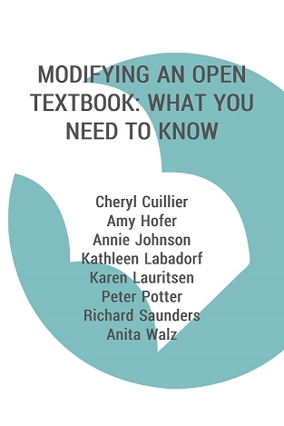 book cover for Modifying an Open Textbook