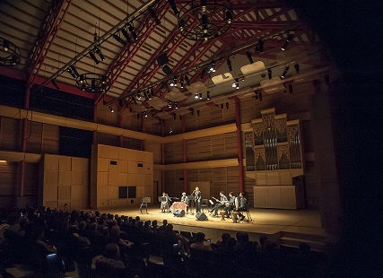 Eckhardt Gramatte Hall of Rozsa Centre at Calgary University, a Persian Concert