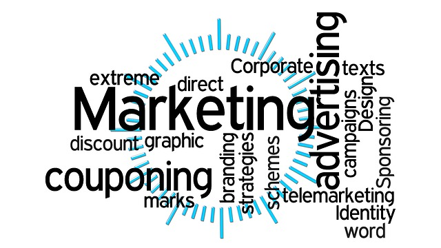 Marketing strategies word cloud