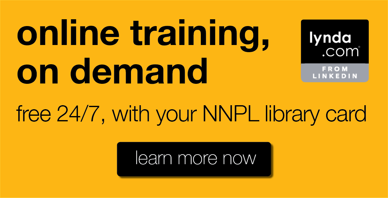 #Online Training, On Demand Free with your NNPL Library Card