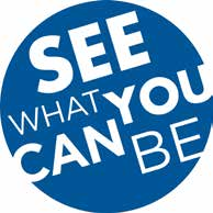 see what you can be logo