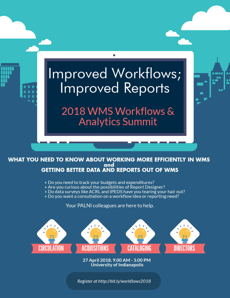 Promo image for 2018 Workflows Analytics Summit