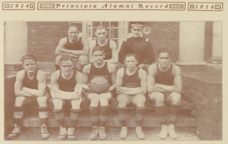 1914 Men's Basketball Team