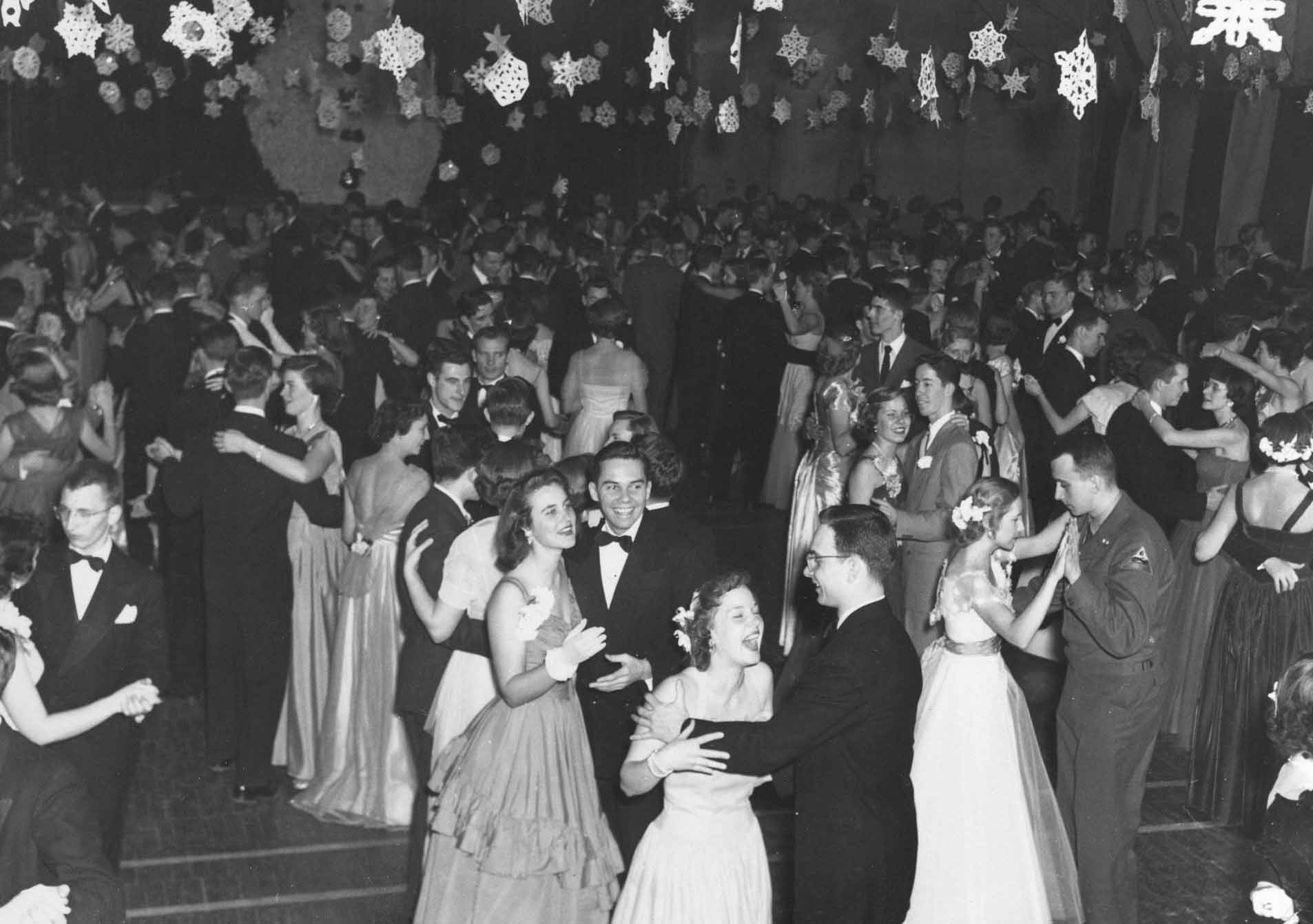 Homecoming Dance at Morey Field House, 1951