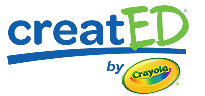CreatED by Crayola logo