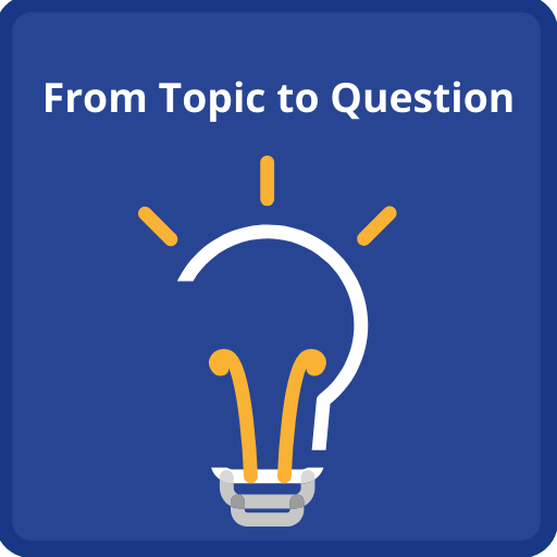 Click here for help finding a topic or forming a research question