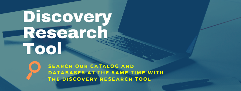 Discovery research tool banner link