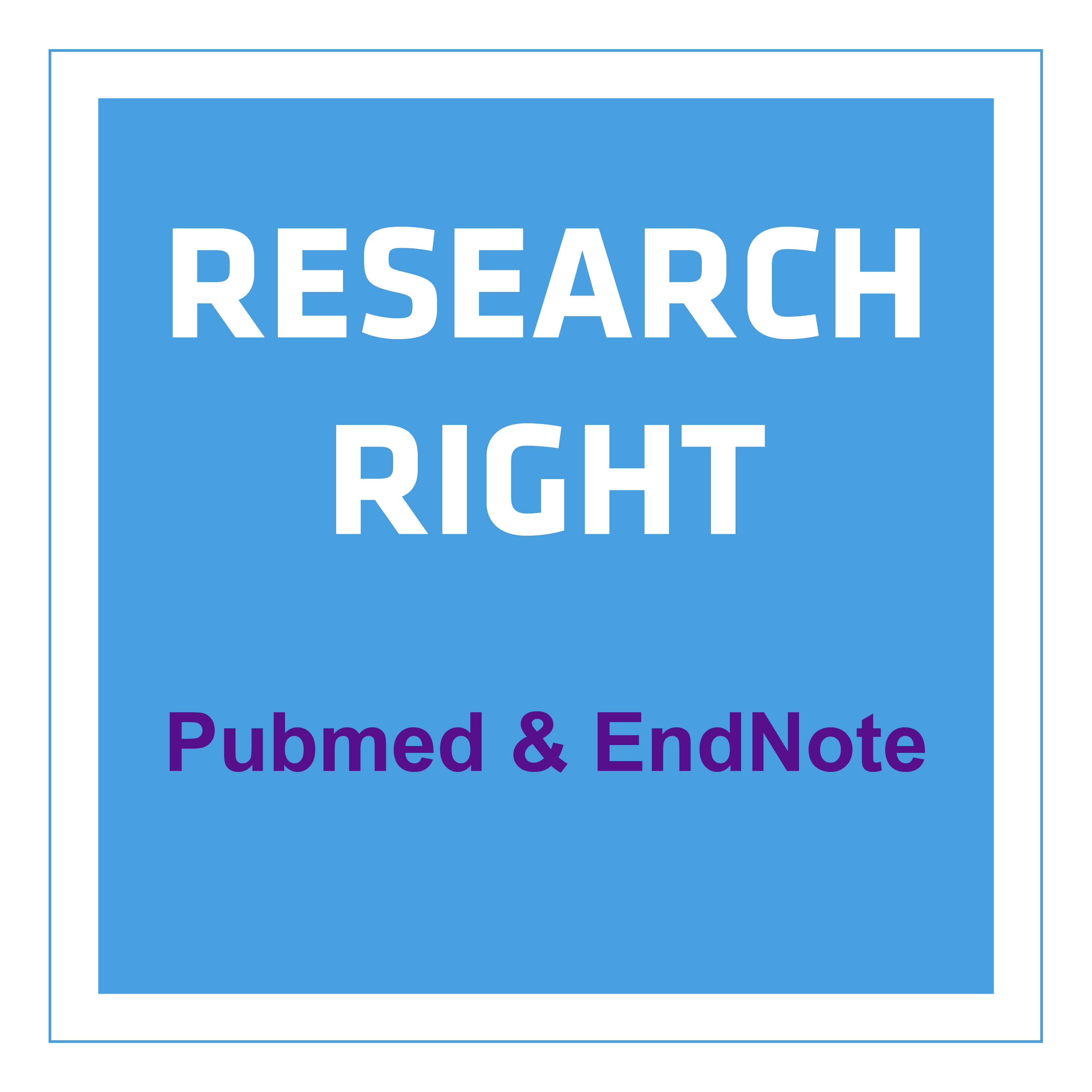 Research Right with PubMed & EndNote vX9