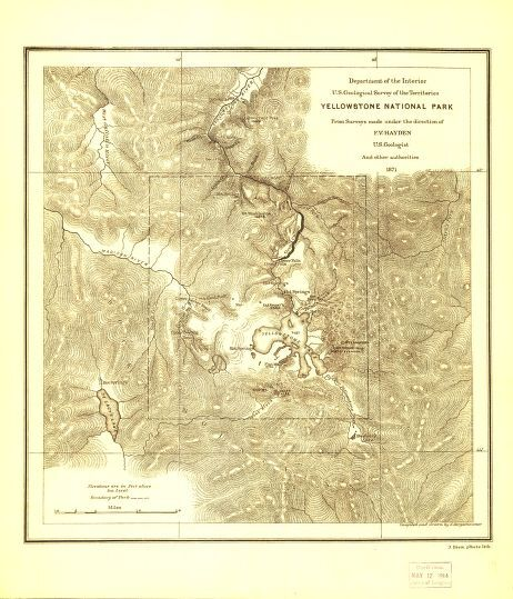 Yellowstone map LoC