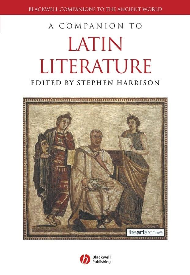 Companion to Latin Literature
