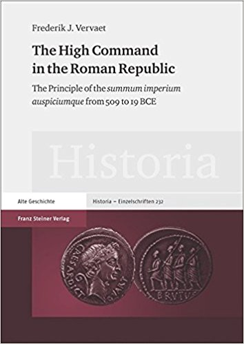 High command in the Roman Republic: The Principle of the...