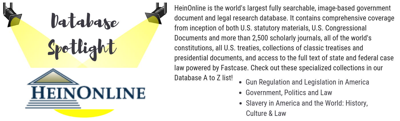 click here to access our a to z database list featuring heinonline