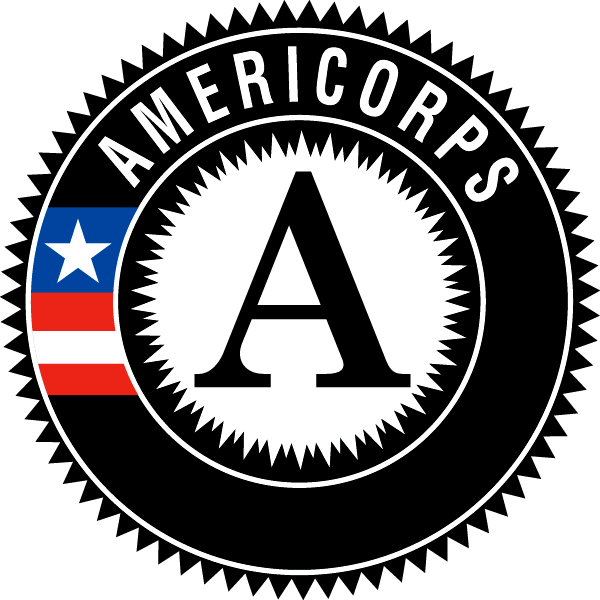 Americorps logo. Click on image to visit webpage.