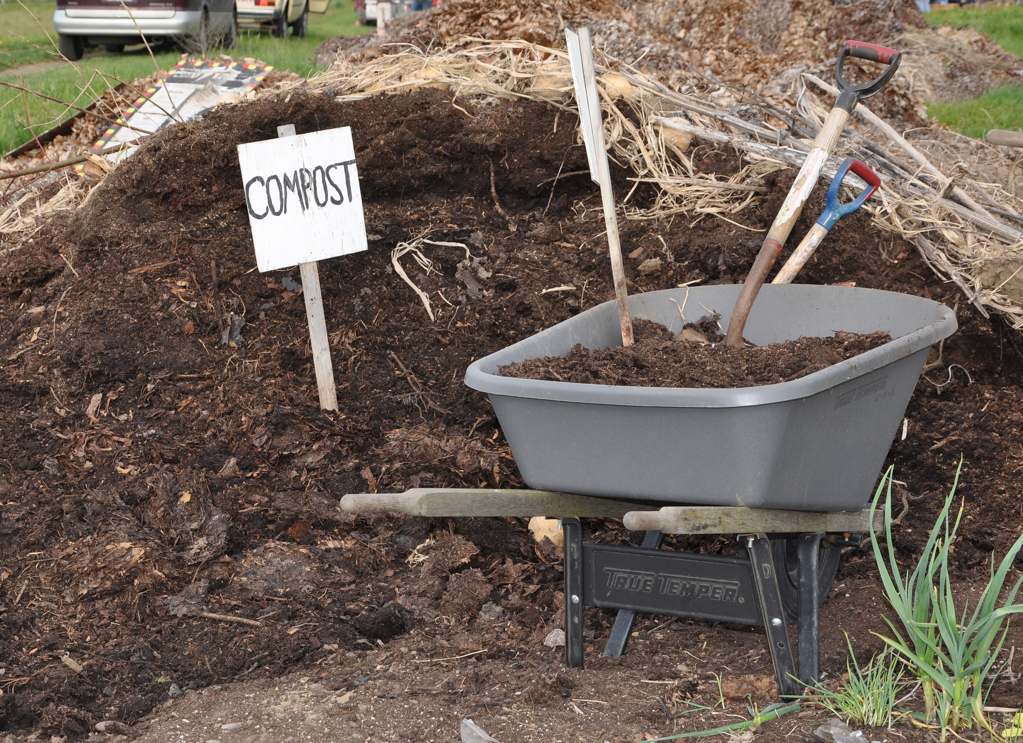 Compost; photo courtesy of Flickr cc/Oregon State University