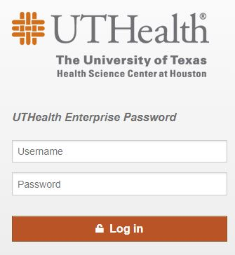 UTHealth Enterprise Login