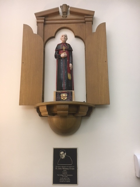 Third Floor: Statue of Cardinal John Newman