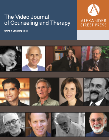 Browse Video Journal of Counseling and Therapy Titles