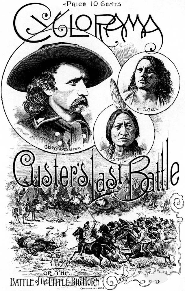 Cyclorama of General Custer's Last Fight Against Sioux Indians, by A.J. Donnelle. (Boston Cyclorama, Boston, MA, 1889) 30 pp