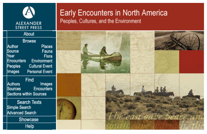 Early Encounters in North America Screenshot