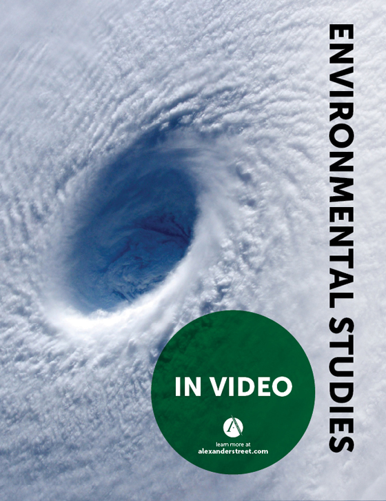Environmental Studies in Video Brochure Cover