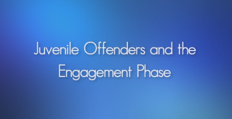 Engaging Juvenile Offenders in a Therapeutic Relationship