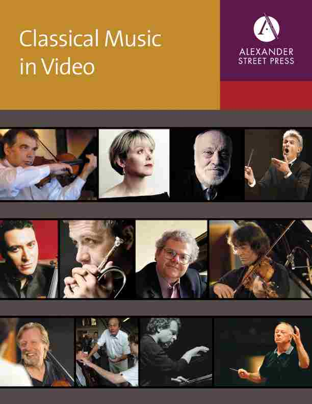 Browse Music Online: Classical Music in Video Titles