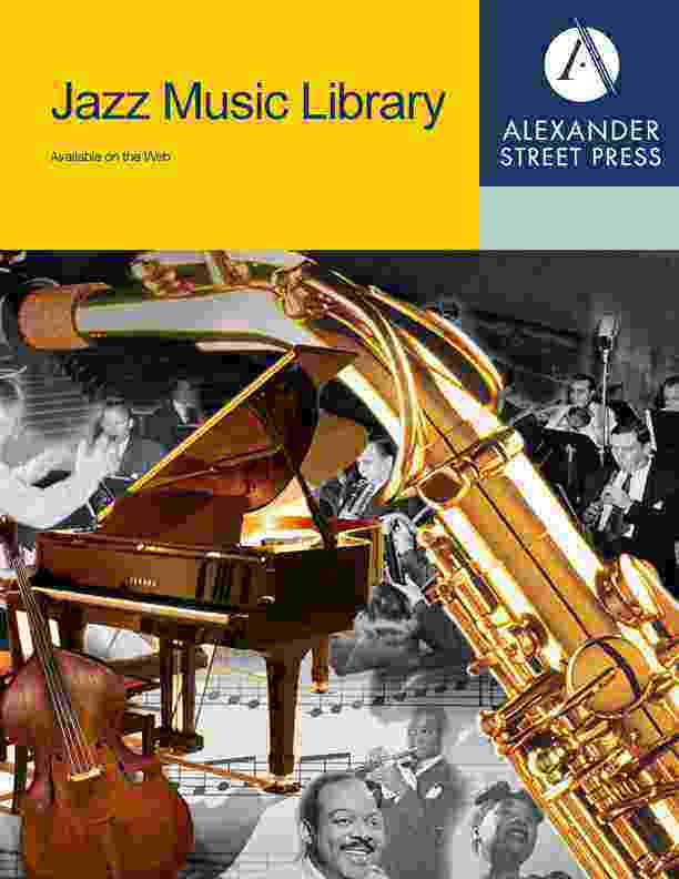 Browse Music Online: Jazz Music Library Titles
