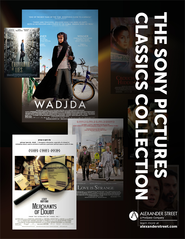 The Sony Pictures Classics Collection brochure