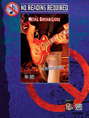 No Reading Required: Metal Guitar Licks with Ken Steiger