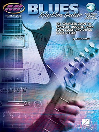 Blues Rhythm Guitar Book & Online Audio(Master Class)