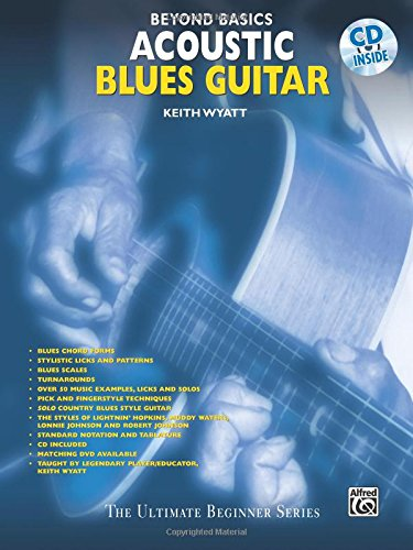 Beyond Basics: Acoustic Blues Guitar, Book & CD