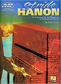 Stride Hanon: 50 Exercises for the Beginning to Professional Pianist