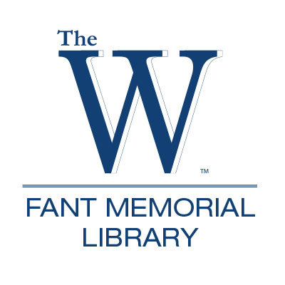 blue Fant Memorial Library logo