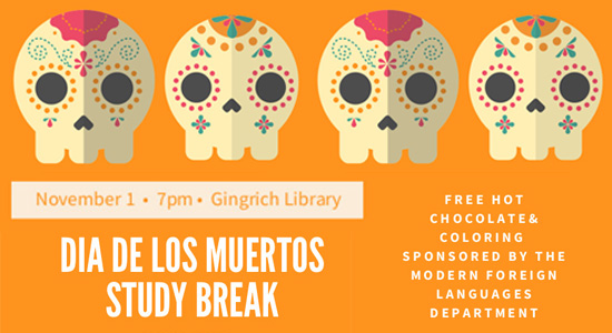 Day of The Dead Study Break