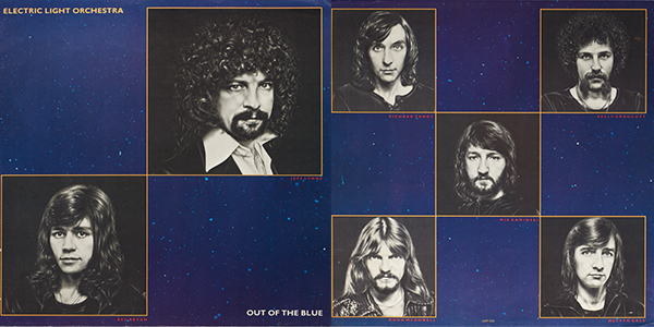 "Electric Light Orchestra,""Out of the Blue"" album photos"