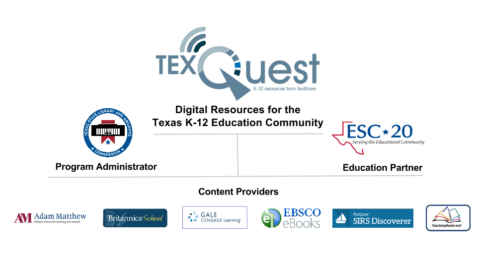 TexQuest Program Organization Chart