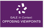 Gale Opposing Viewpoints in Context icon