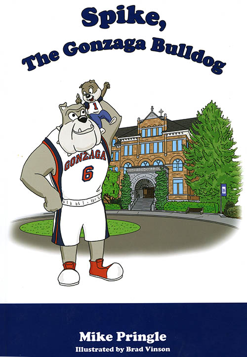 """Spike, The Gonzaga Bulldog"", by Mike Pringle, 2007"